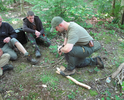 2 day Practical Woodsman Course